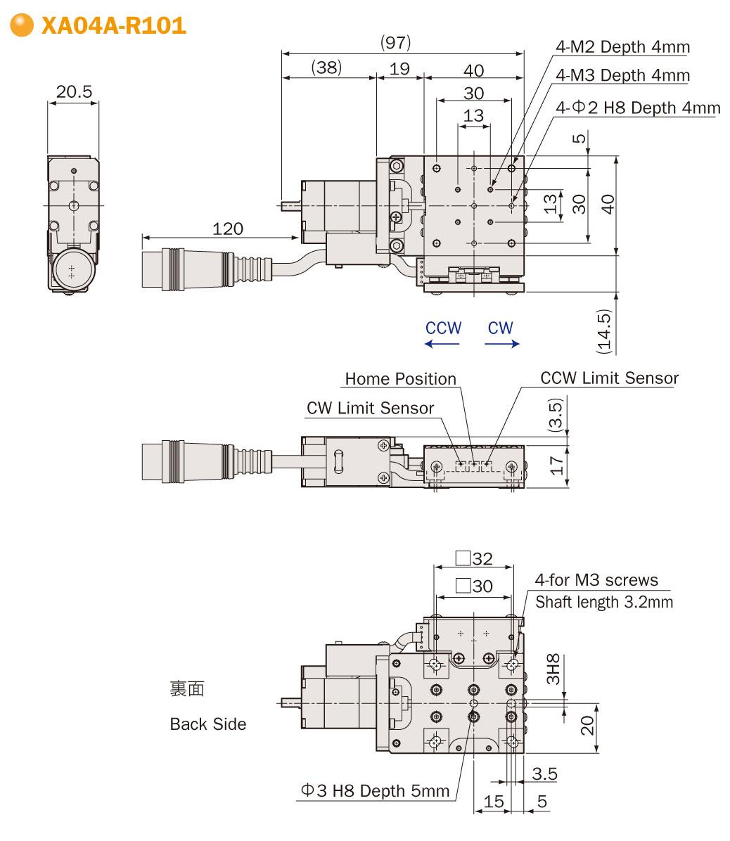 Motorized X Xy Stage Oriental Motor Wiring Diagram Drawings File